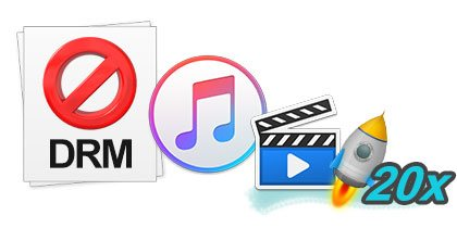 remove drm at a high speed on mac