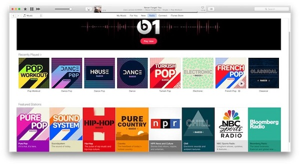Apple Music Beats 1 radio station