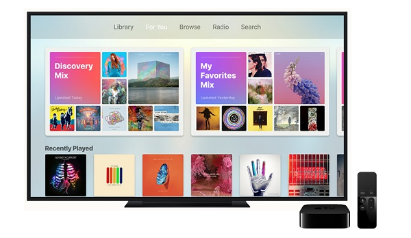 get apple music on apple tv
