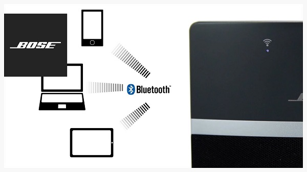 play apple music to SoundTouch via bluetooth
