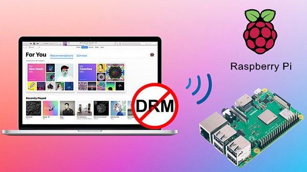 stream apple music to raspberry pi