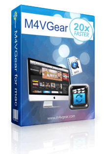 M4VGear DRM Remover, iTunes M4V Video Converter