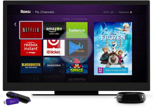 iTunes to Roku - Mirror iTunes Videos to Roku 3/ Roku Streaming