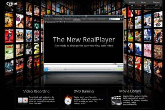 real player downloads videos
