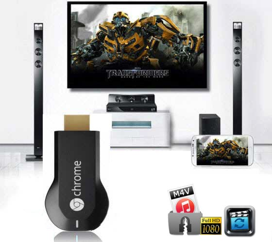 Stream iTunes to Chromecast-Enjoy iTunes Movies on TV via