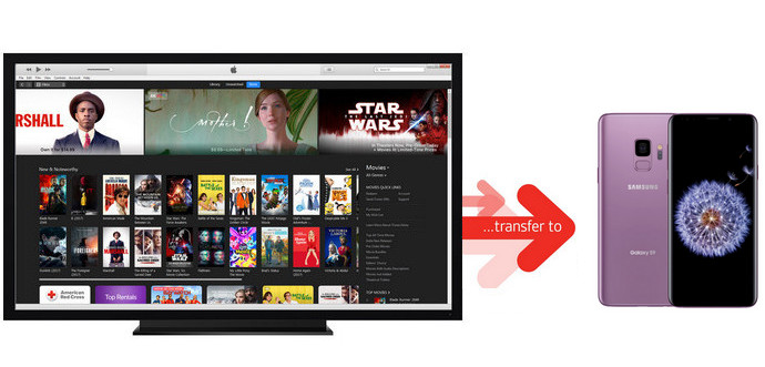 Transfer iTunes Movies to Samsung Galaxy S9