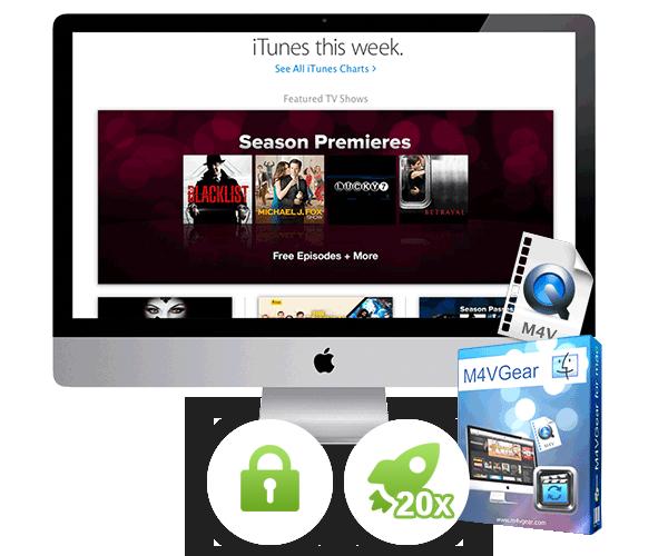 M4VGear Products - M4VGear iTunes Video Converter, Apple