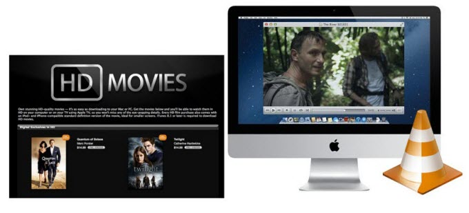 convert iTunes M4V to VLC on Mac