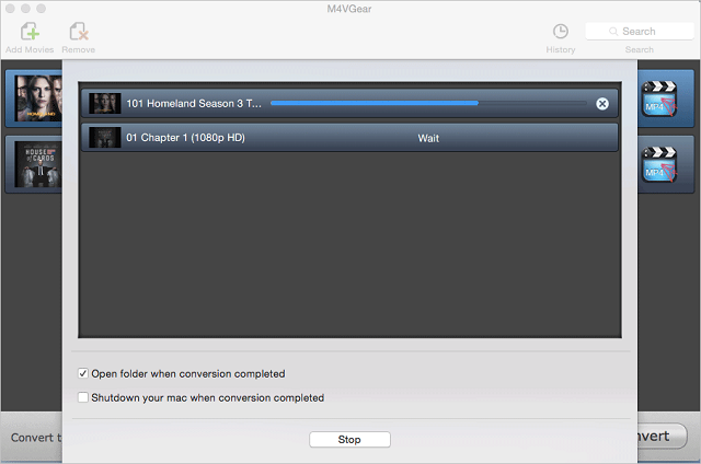 M4VGear for Mac, 20X Faster to Remove DRM from iTunes Videos Losslessly