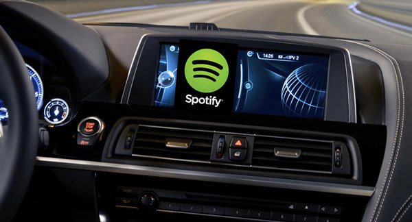 Play Spotify Music in your car