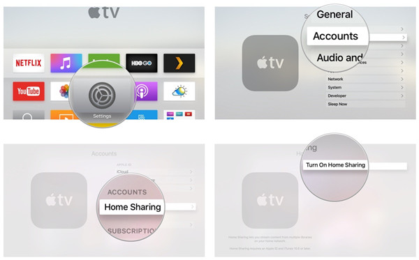 Stream Spotify to Apple TV with iTunes Home Sharing
