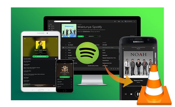 Play Spotify Music on VLC Media Player