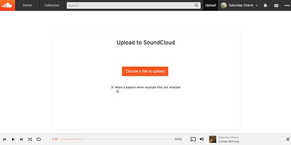 Upload Spotify Music to SoundCloud