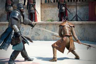fight betwwen oberyn and the mountain