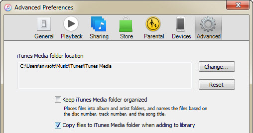 how to save itunes library to external hard drive