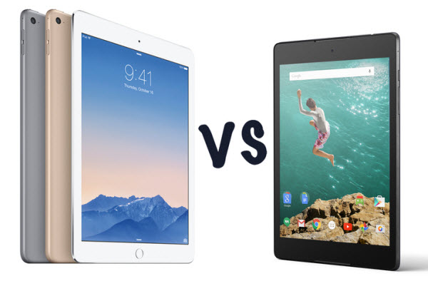 Nexus 9 vs iPad Air 2