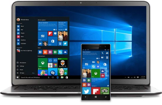 Windows works across multiple devices