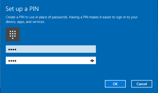 Windows Login Pin